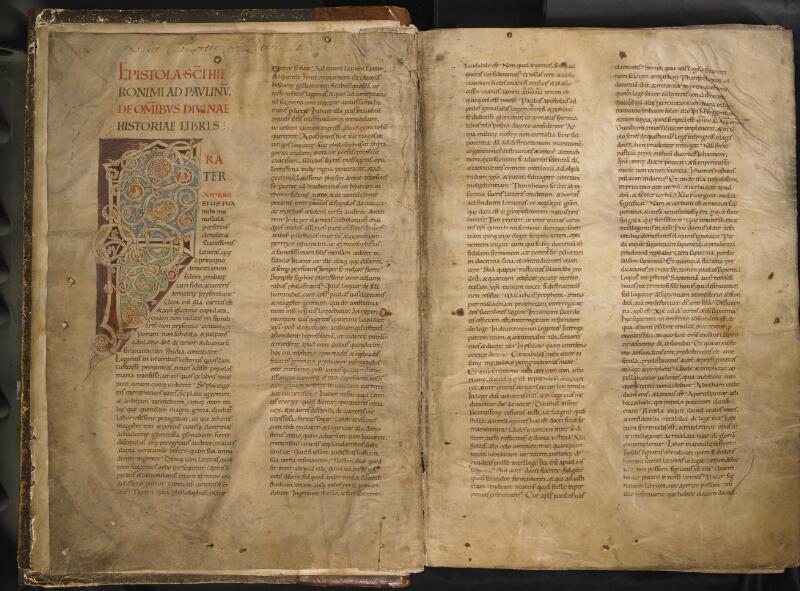 TOURNAI, Bibliothèque du Séminaire, 001, f. 001v - 002