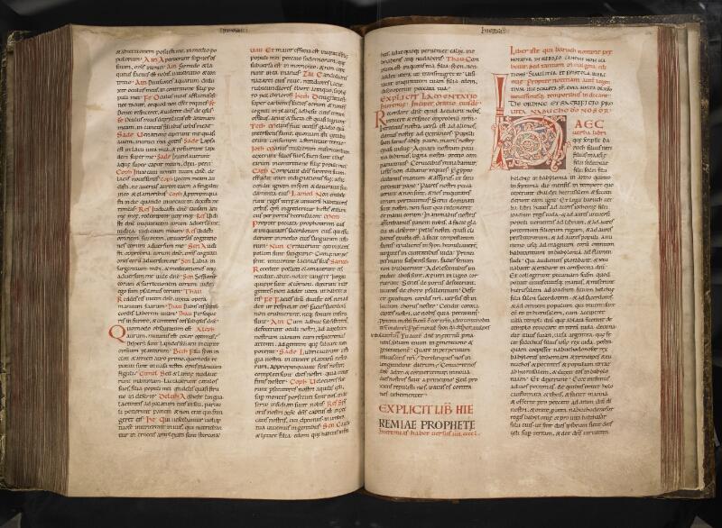TOURNAI, Bibliothèque du Séminaire, 001, f. 220v - 221