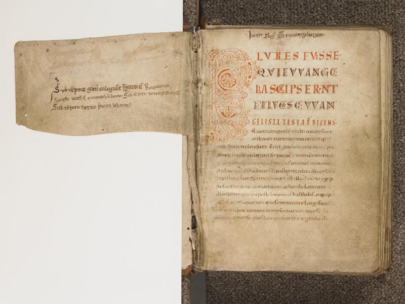 TOURNAI, Bibliothèque du Séminaire, 002, f. 001v - 002