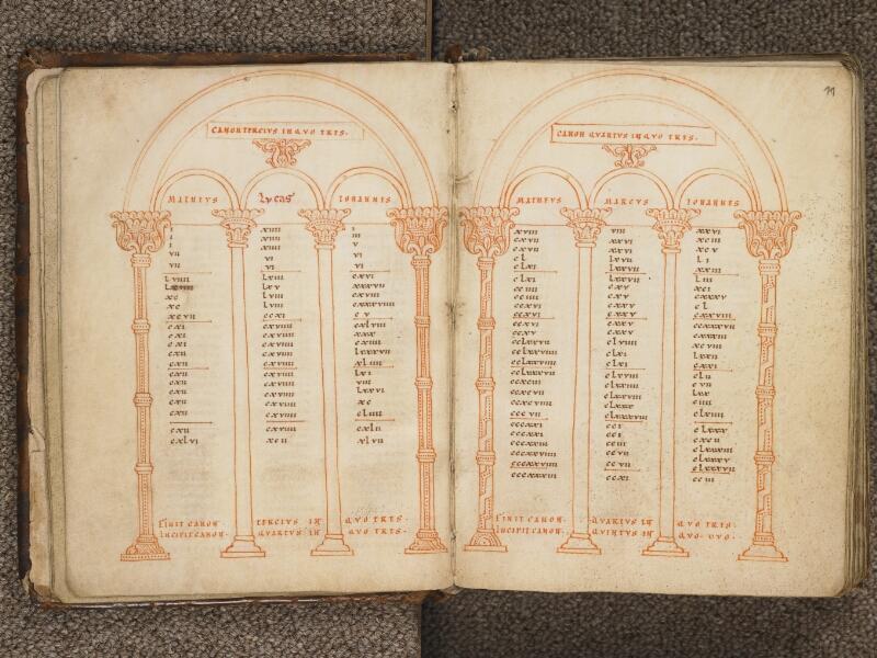 TOURNAI, Bibliothèque du Séminaire, 002, f. 010v - 011