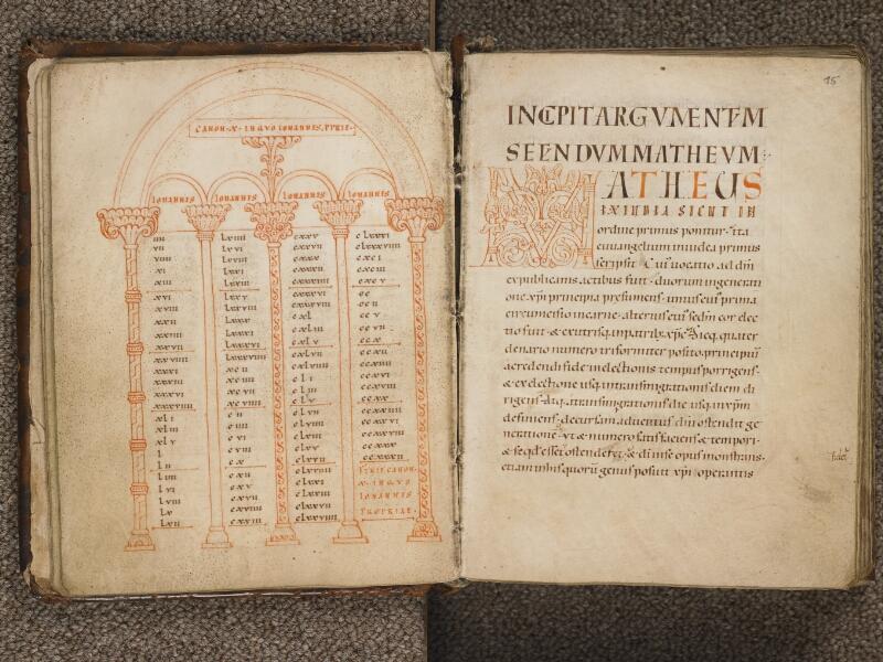 TOURNAI, Bibliothèque du Séminaire, 002, f. 014v - 015