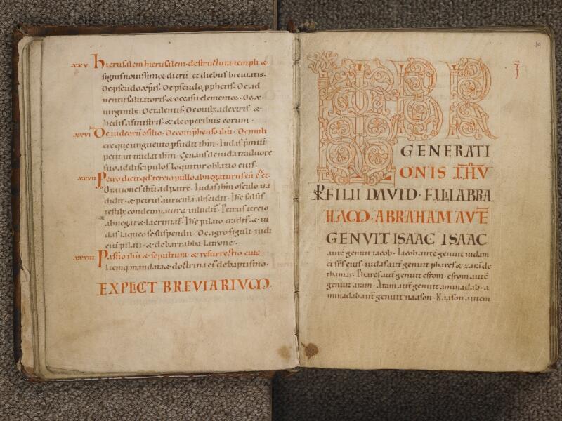 TOURNAI, Bibliothèque du Séminaire, 002, f. 018v - 019