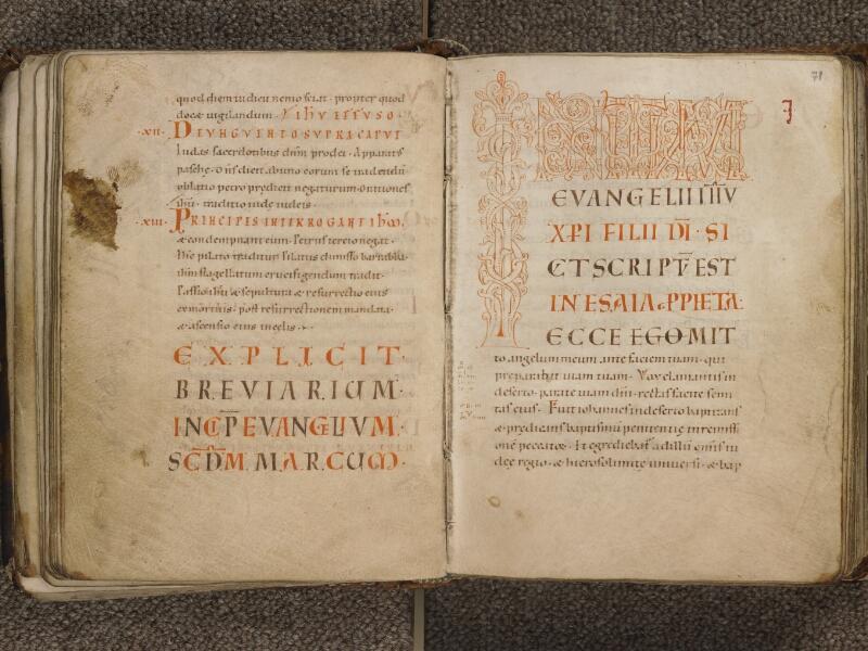 TOURNAI, Bibliothèque du Séminaire, 002, f. 070v - 071