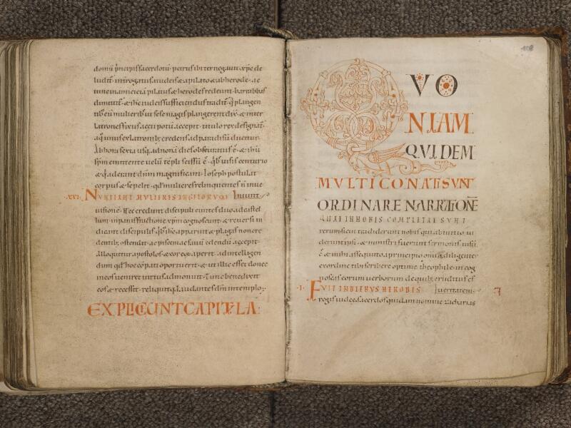 TOURNAI, Bibliothèque du Séminaire, 002, f. 107v - 108
