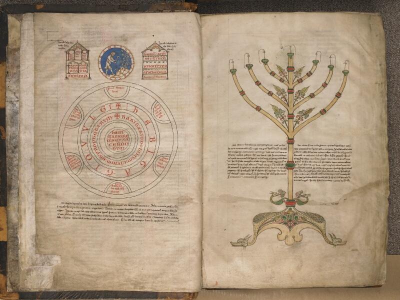 TOURNAI, Bibliothèque du Séminaire, 004, f. 002v - 003