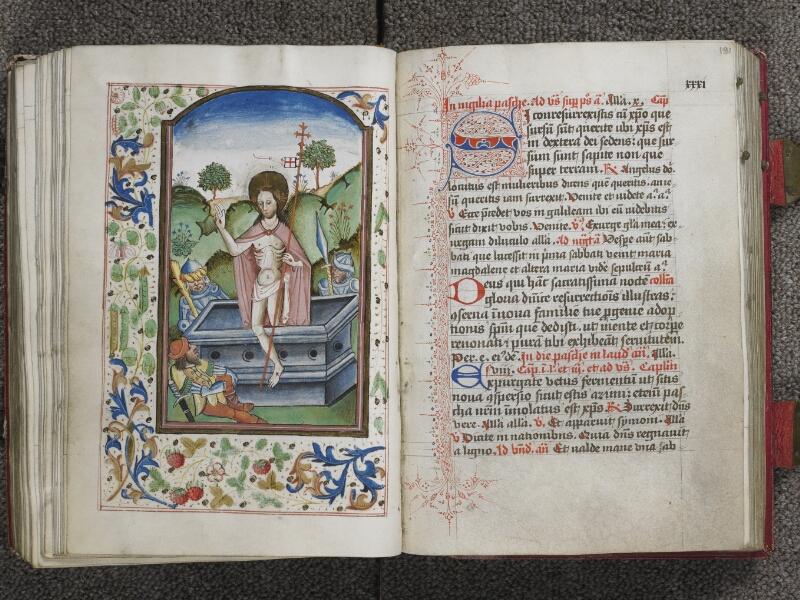 TOURNAI, Bibliothèque du Séminaire, 012, f. 190v - 191