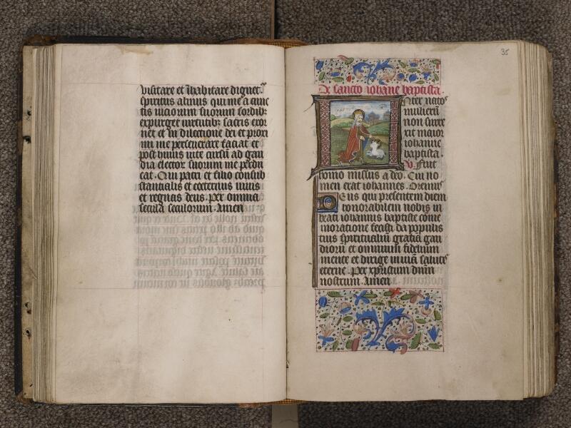 TOURNAI, Bibliothèque du Séminaire, 015, f. 034v - 035
