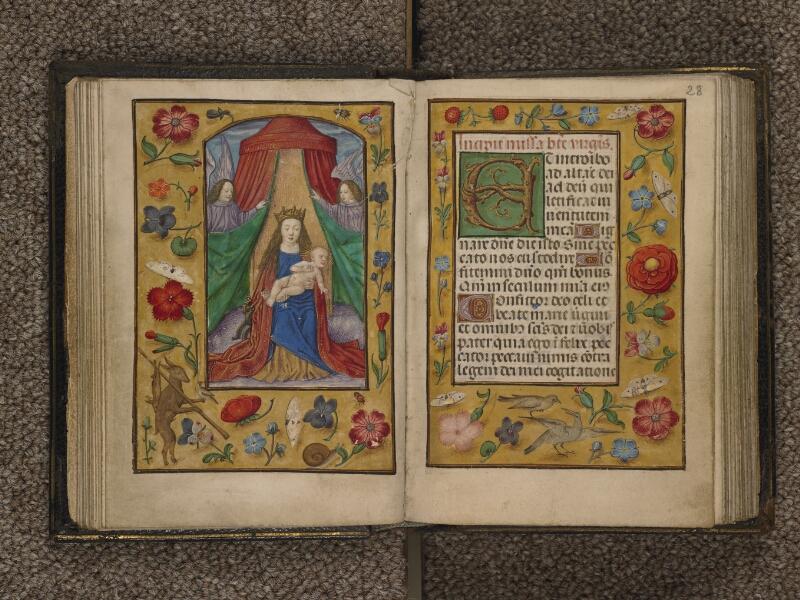 TOURNAI, Bibliothèque du Séminaire, 016, f. 027v - 028