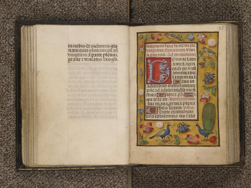 TOURNAI, Bibliothèque du Séminaire, 016, f. 034v - 035