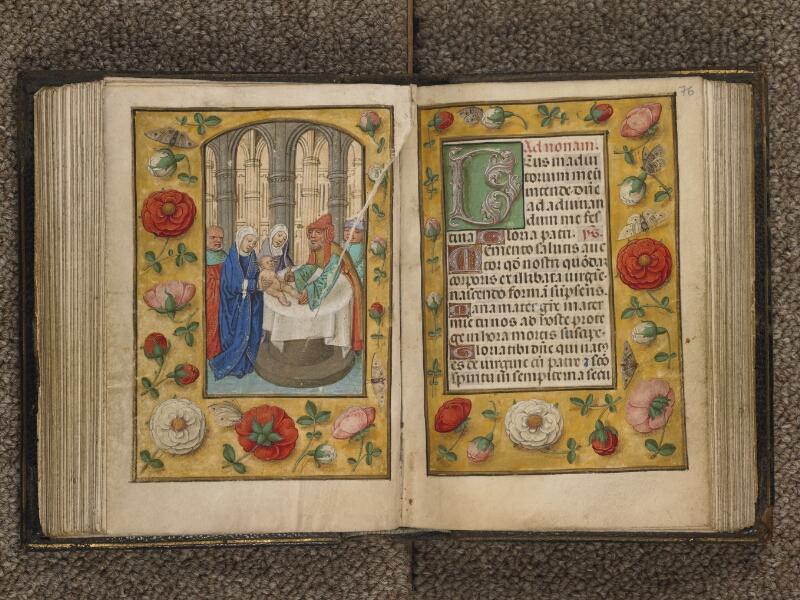 TOURNAI, Bibliothèque du Séminaire, 016, f. 075v - 076