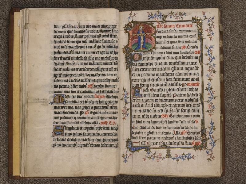 TOURNAI, Bibliothèque du Séminaire, 023, f. 014v - 015