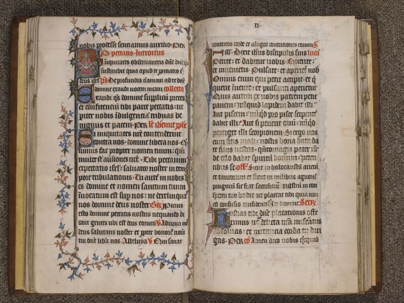 TOURNAI, Bibliothèque du Séminaire, 023, f. 024v - 025