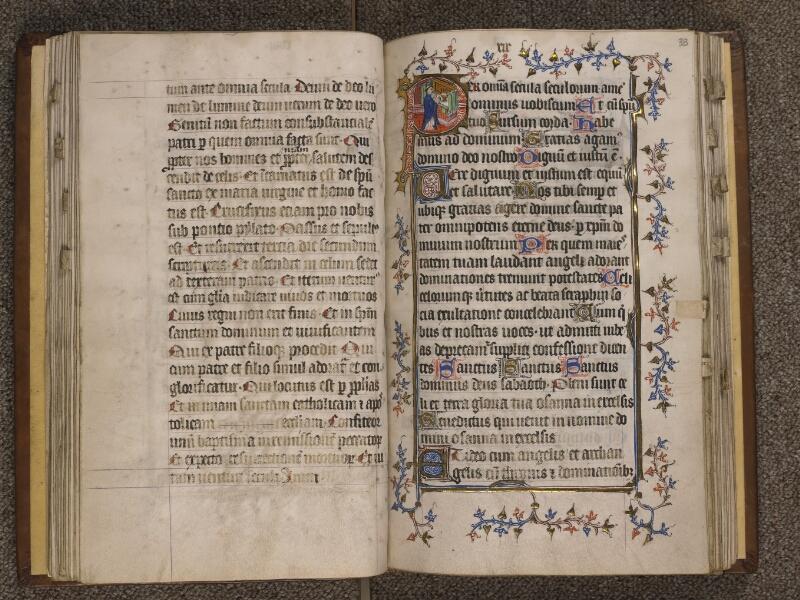 TOURNAI, Bibliothèque du Séminaire, 023, f. 032v - 033