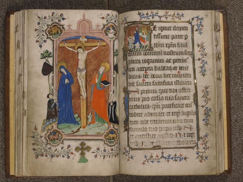 TOURNAI, Bibliothèque du Séminaire, 023, f. 039v - 040