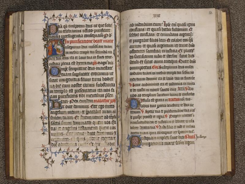 TOURNAI, Bibliothèque du Séminaire, 023, f. 051v - 052