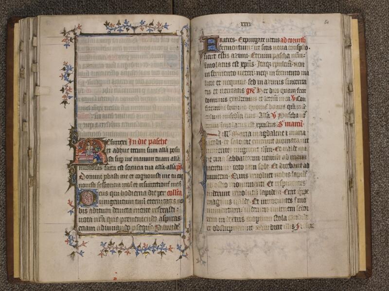 TOURNAI, Bibliothèque du Séminaire, 023, f. 053v - 054