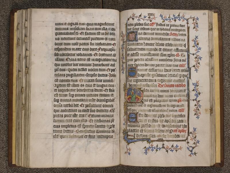 TOURNAI, Bibliothèque du Séminaire, 023, f. 061v - 062