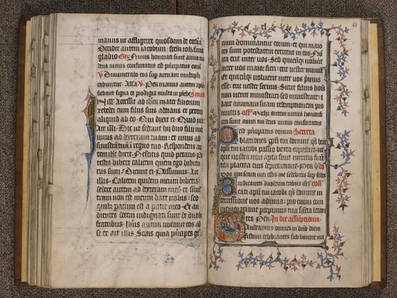 TOURNAI, Bibliothèque du Séminaire, 023, f. 062v - 063