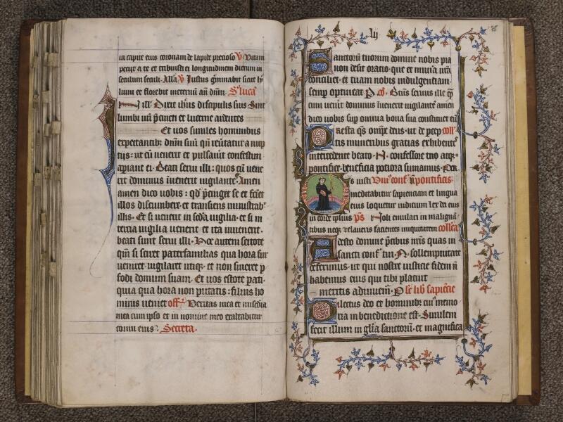 TOURNAI, Bibliothèque du Séminaire, 023, f. 074v - 075