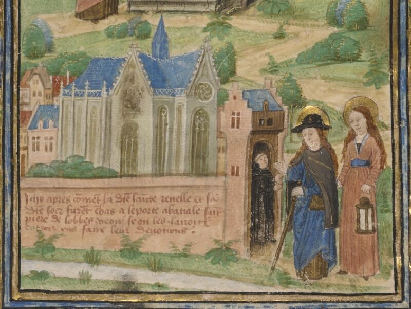TOURNAI, Bibl. du Séminaire, 043, f. 002v - vue 3
