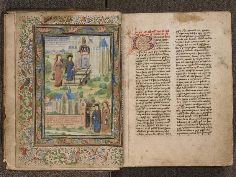 TOURNAI, Bibliothèque du Séminaire, 043, f. 002v - 003
