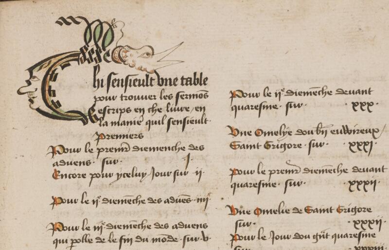 TOURNAI, Bibl. du Séminaire, 043, f. 015 - vue 1