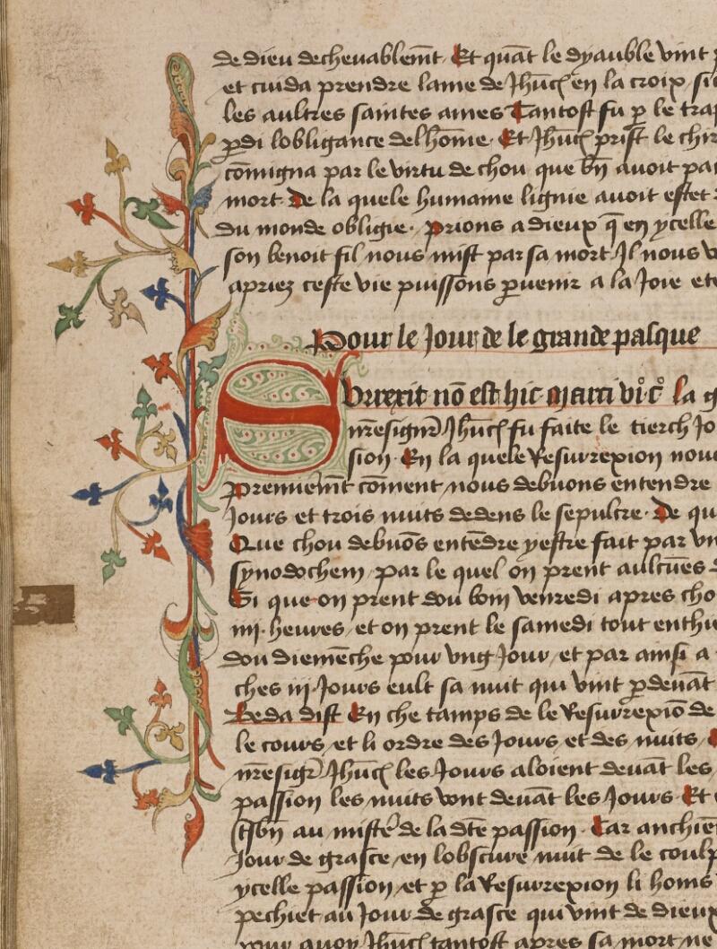 TOURNAI, Bibl. du Séminaire, 043, f. 067v - vue 1