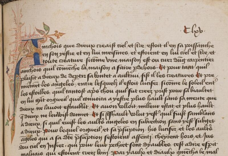 TOURNAI, Bibl. du Séminaire, 043, f. 183 - vue 1