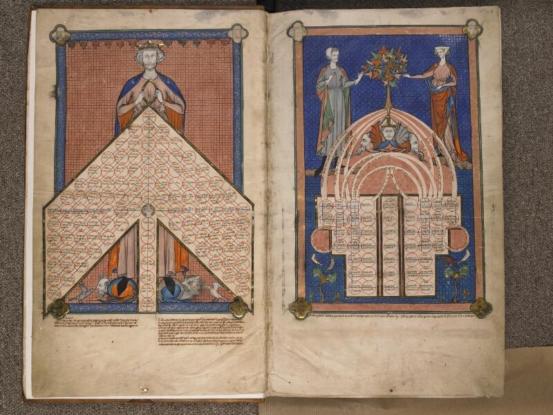 TOURNAI, Bibliothèque du Séminaire, BE 006, f. 001v - 002