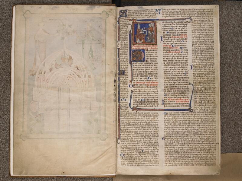 TOURNAI, Bibliothèque du Séminaire, BE 006, f. 002v - 003