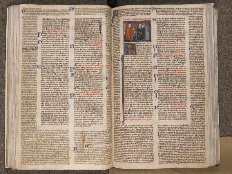 TOURNAI, Bibliothèque du Séminaire, BE 006, f. 080v - 081