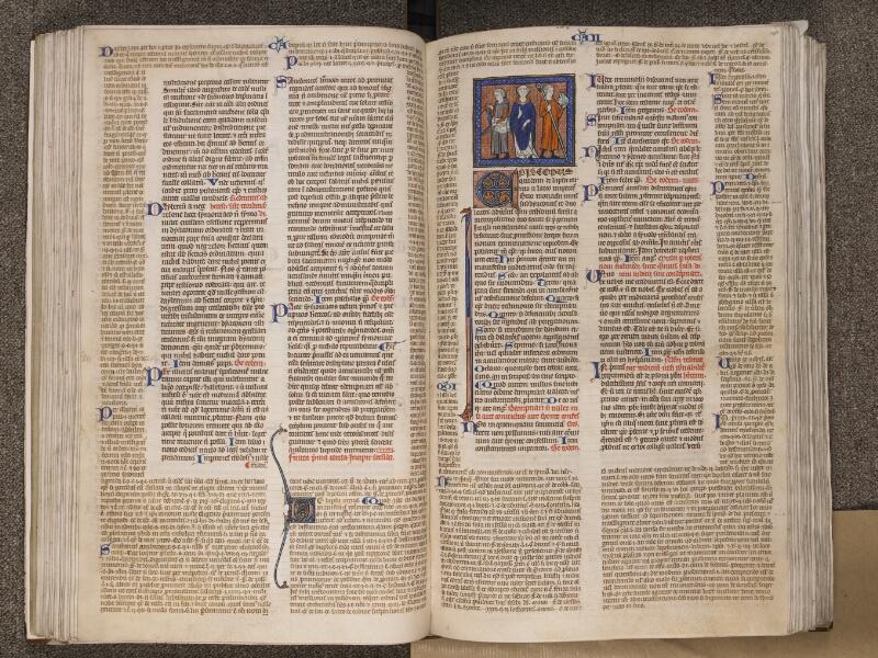 TOURNAI, Bibliothèque du Séminaire, BE 006, f. 099v - 100
