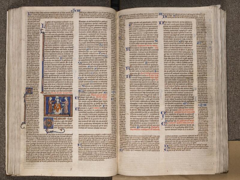 TOURNAI, Bibliothèque du Séminaire, BE 006, f. 116v - 117