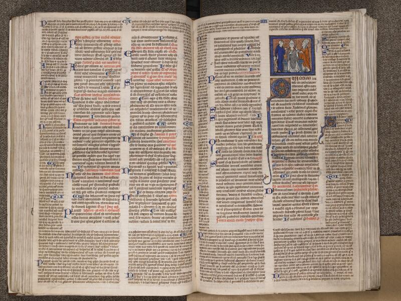 TOURNAI, Bibliothèque du Séminaire, BE 006, f. 123v - 124