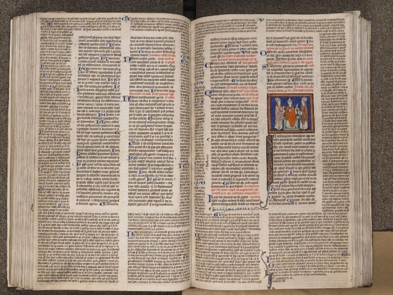 TOURNAI, Bibliothèque du Séminaire, BE 006, f. 125v - 126