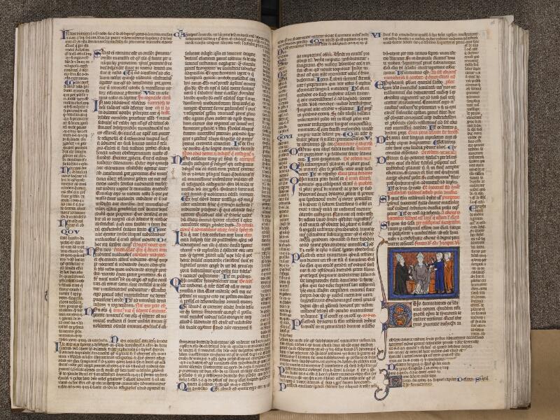 TOURNAI, Bibliothèque du Séminaire, BE 006, f. 127v - 128