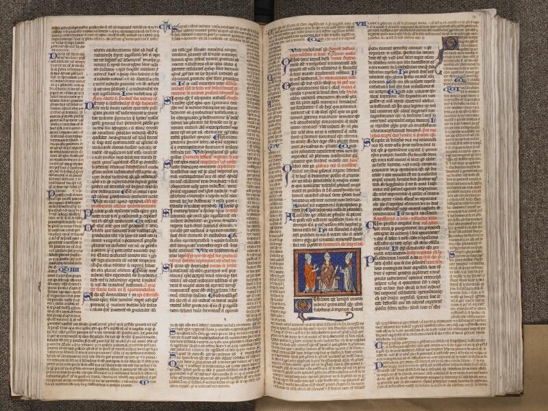 TOURNAI, Bibliothèque du Séminaire, BE 006, f. 130v - 131
