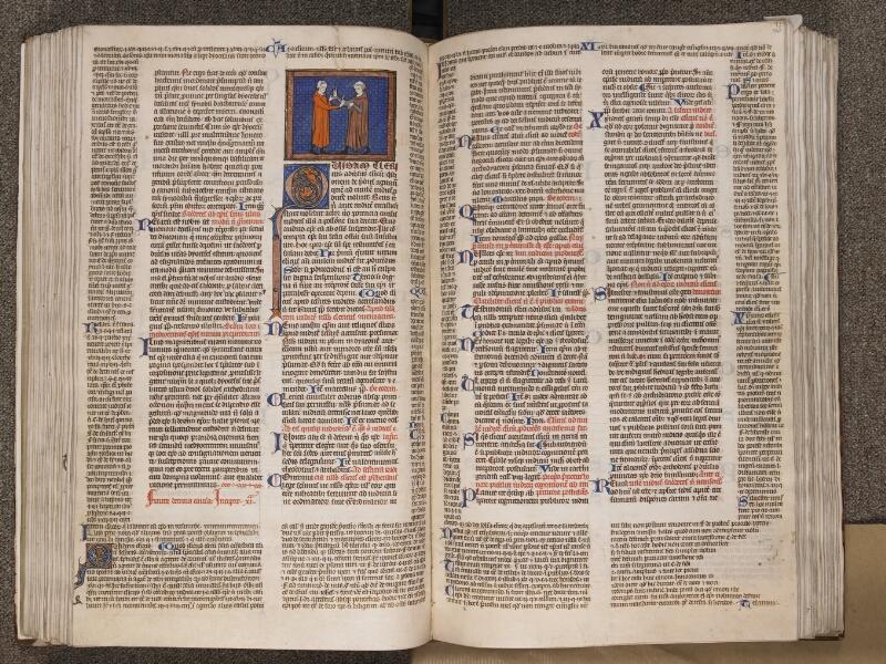 TOURNAI, Bibliothèque du Séminaire, BE 006, f. 144v - 145