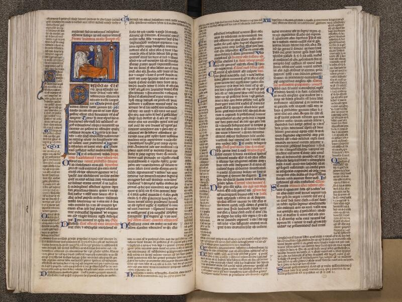 TOURNAI, Bibliothèque du Séminaire, BE 006, f. 154v - 155