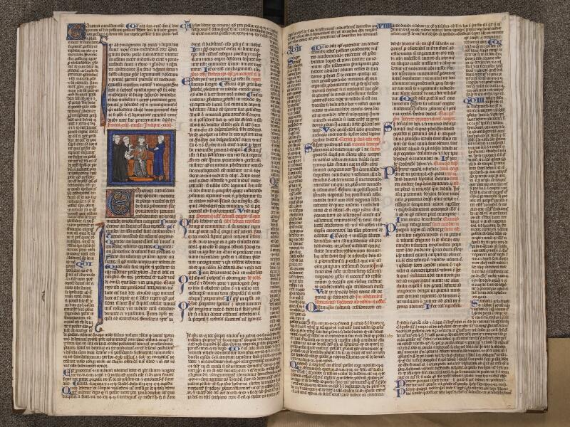 TOURNAI, Bibliothèque du Séminaire, BE 006, f. 167v - 168