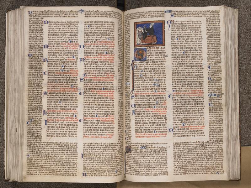 TOURNAI, Bibliothèque du Séminaire, BE 006, f. 186v - 187