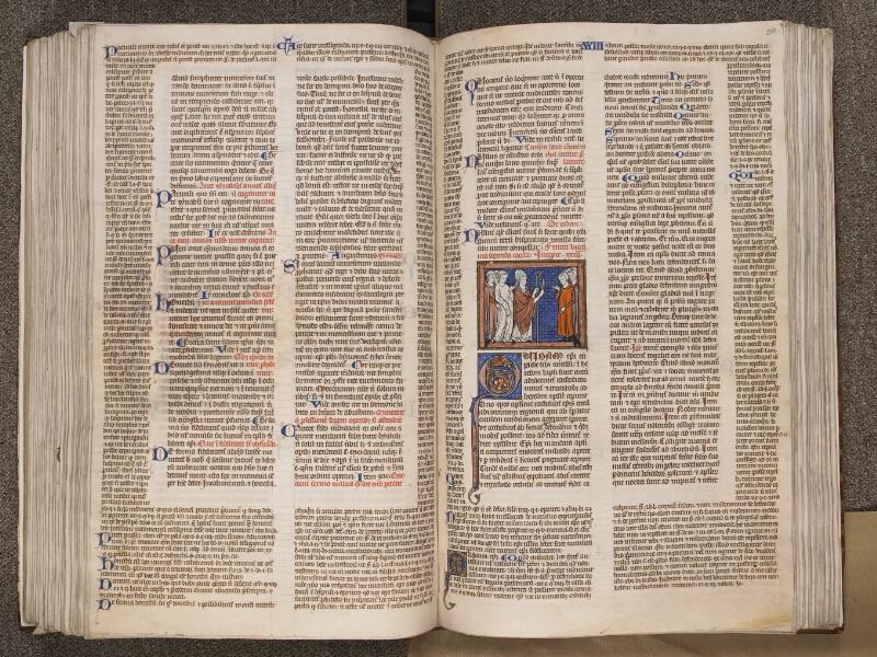 TOURNAI, Bibliothèque du Séminaire, BE 006, f. 203v - 204