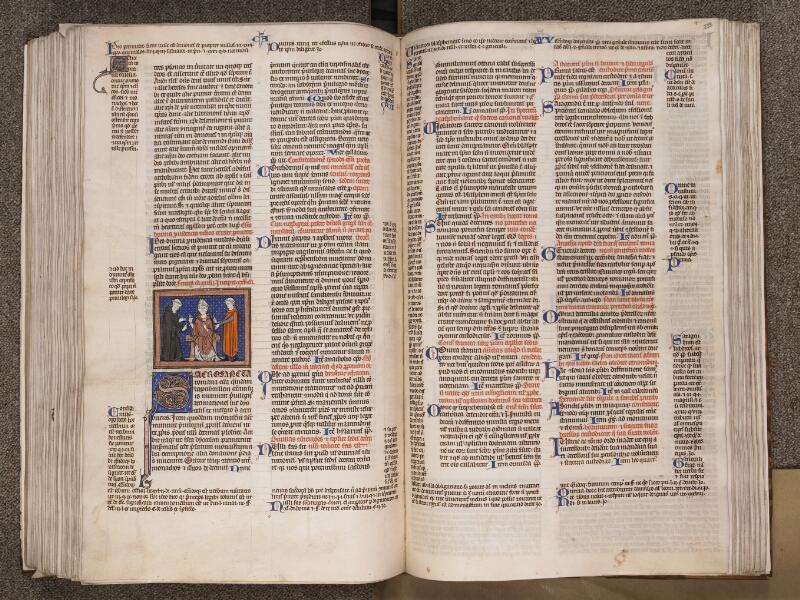 TOURNAI, Bibliothèque du Séminaire, BE 006, f. 232v - 233