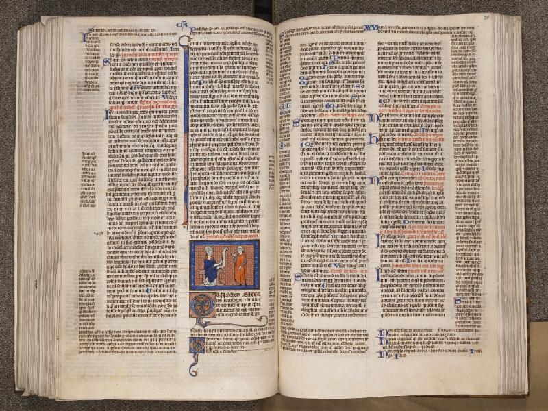 TOURNAI, Bibliothèque du Séminaire, BE 006, f. 235v - 236