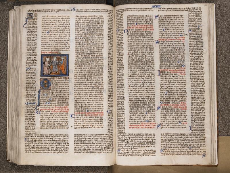 TOURNAI, Bibliothèque du Séminaire, BE 006, f. 298v - 299