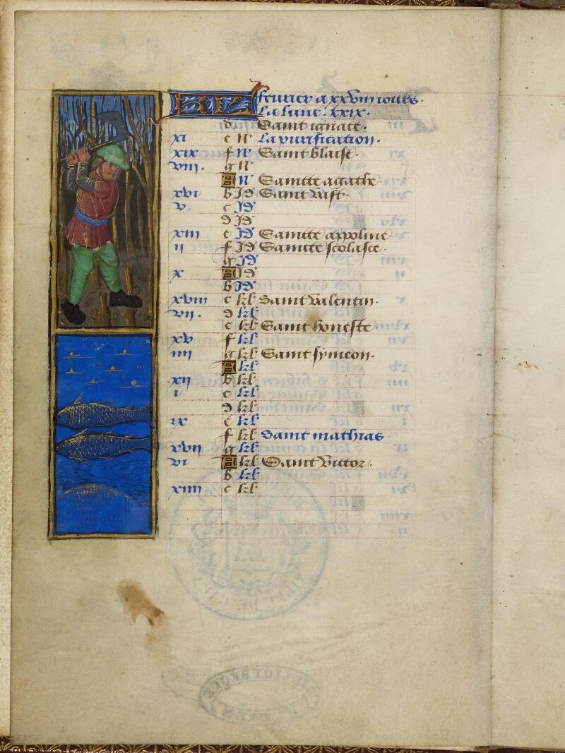 Caen, Bibl. mun., ms. 0012, f. 001v