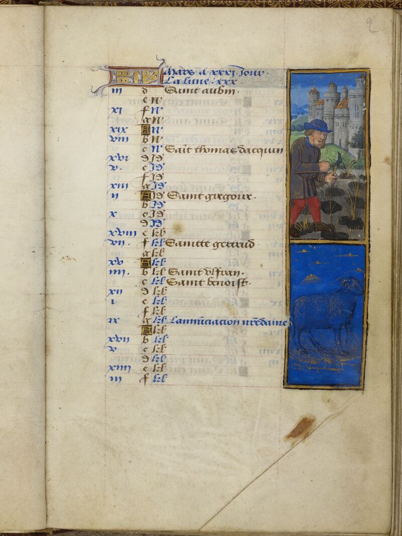 Caen, Bibl. mun., ms. 0012, f. 002