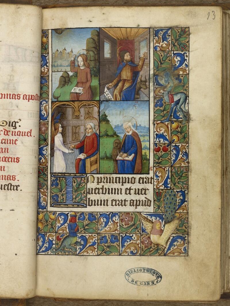 Caen, Bibl. mun., ms. 0013, f. 013
