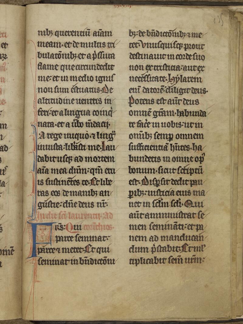 Caen, Bibl. mun., ms. 0015, f. 135