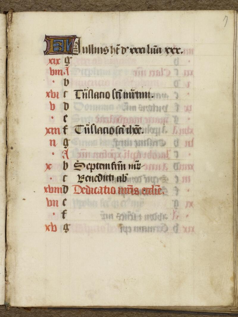 Caen, Bibl. mun., ms. 0017, f. 007 - vue 2